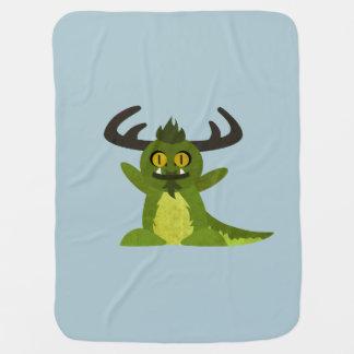 Miles the Monster Baby Blanket