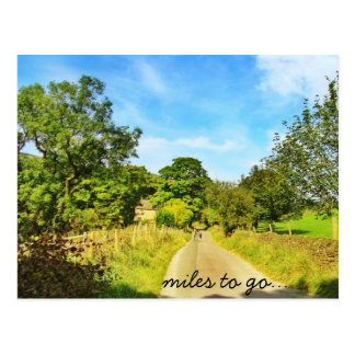 Miles to go... postcard