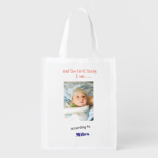 Miles With Open Eyes Reusable Grocery Bag