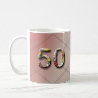 Milestone Birthday Mug_50 Coffee Mug