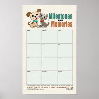 Milestones & Memories [Flashback of your life] Poster