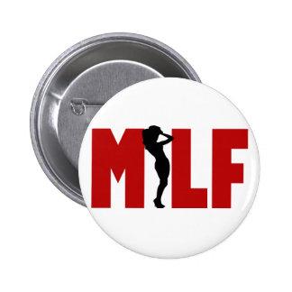 milf 2 inch round button