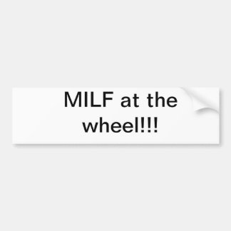 MILF BUMPER STICKER