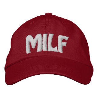 MILF - Customized Embroidered Hat