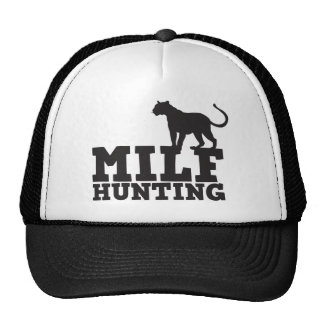 milf hunting trucker hat