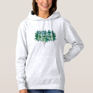 Milford PA est 1796 Pine Tree Design Hoodie