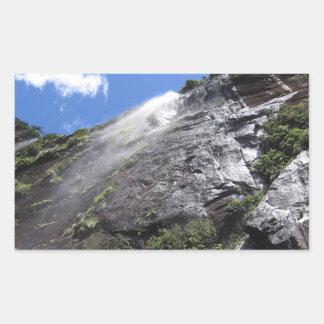 Milford Sound (Piopiotahi) Waterfall Up Close POV