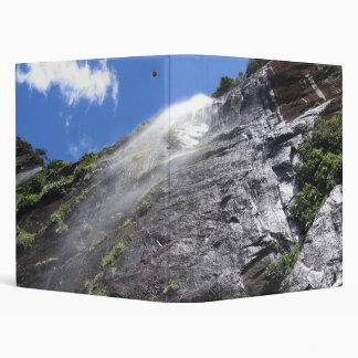 Milford Sound (Piopiotahi) Waterfall Up Close POV Binders
