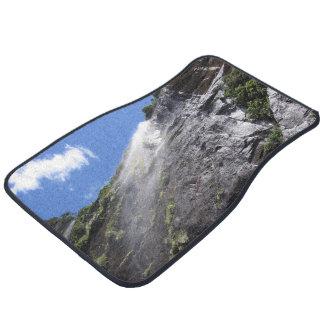 Milford Sound (Piopiotahi) Waterfall Up Close POV Car Mat