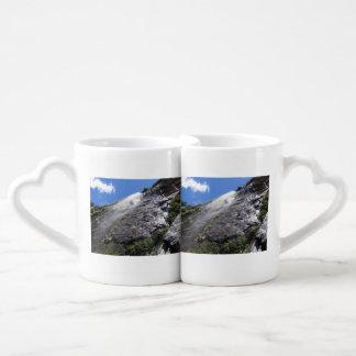 Milford Sound (Piopiotahi) Waterfall Up Close POV Coffee Mug Set