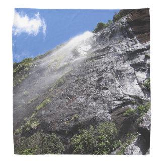 Milford Sound (Piopiotahi) Waterfall Up Close POV Do-rag