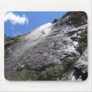 Milford Sound (Piopiotahi) Waterfall Up Close POV Mouse Pad