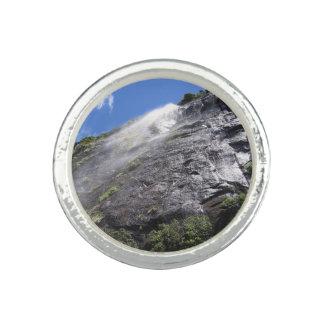 Milford Sound (Piopiotahi) Waterfall Up Close POV Photo Rings