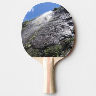 Milford Sound (Piopiotahi) Waterfall Up Close POV Ping Pong Paddle