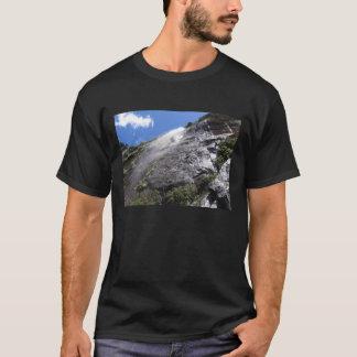 Milford Sound (Piopiotahi) Waterfall Up Close POV T-Shirt