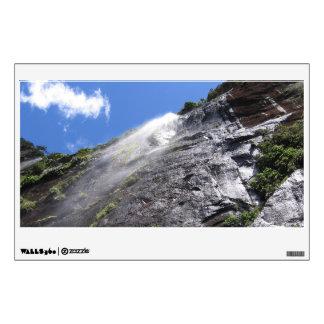 Milford Sound (Piopiotahi) Waterfall Up Close POV Wall Sticker