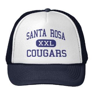 Milieu Santa Rosa de pumas de Santa Rosa Casquettes De Camionneur