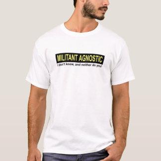 Militant Agnostic T-Shirt