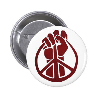 Militant for Peace 2 Inch Round Button