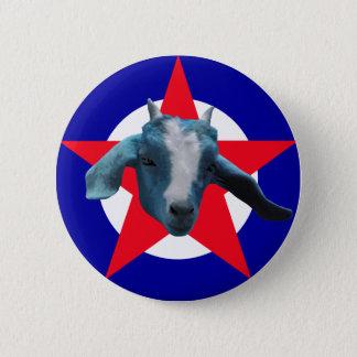 Militant Goat 2 Inch Round Button