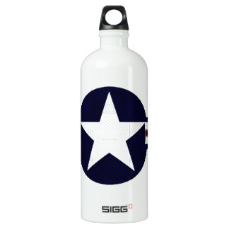 Military air corps roundel water bottle