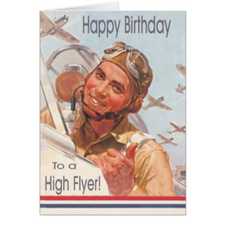 Military Air Force Birthday Card