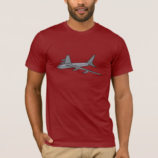 Military AirForce B52 Bomber Aircraft In Flight T-Shirt
