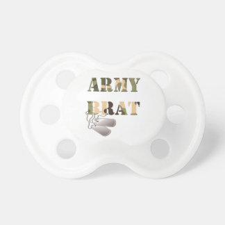 Military Army Brat Pacifier