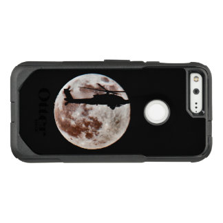 Military Attack Helicopter Against Full Moon OtterBox Commuter Google Pixel Case