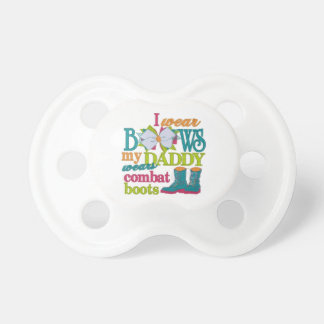 Military baby pacifier