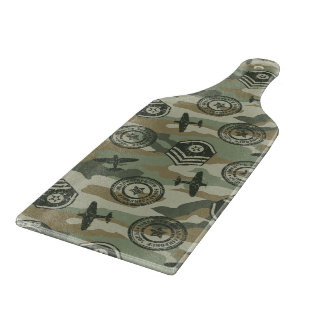 Military badges boards