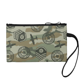 Military badges coin purse