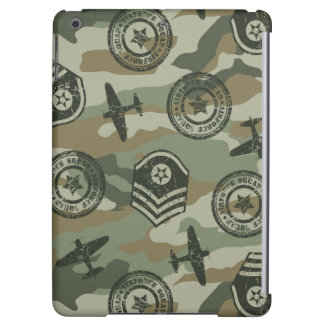 Military badges iPad air cover