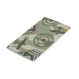 Military badges journal