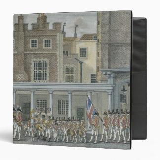 Military Band at St. James' Palace, late 18th cent Vinyl Binder