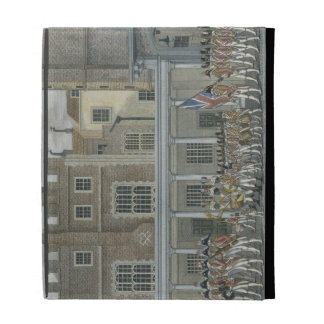 Military Band at St. James' Palace, late 18th cent iPad Folio Cases
