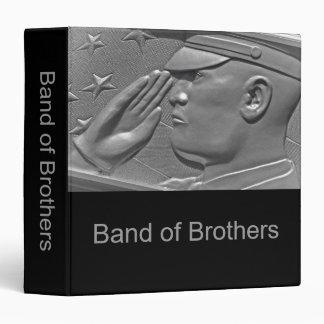 Military Band of Brothers Photo Album Vinyl Binders