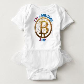 Military Bitcoin Baby Apparel Baby Bodysuit