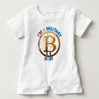 Military Bitcoin Baby Apparel Baby Romper