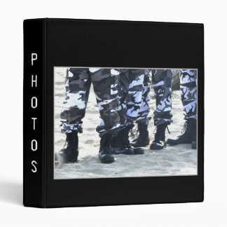 Military Boots Binder