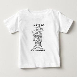 Military Brat(tm) Army Kid Infant T Baby T-Shirt