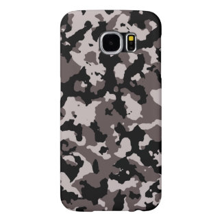 Military Brown Camouflage Pattern Samsung Galaxy S6 Cases