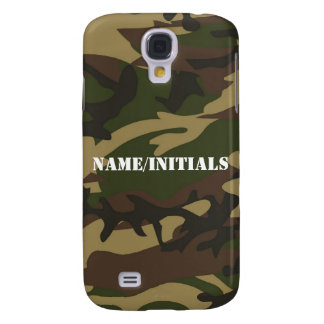 Military Camoflauge Camo Green Personalized Galaxy S4 Case