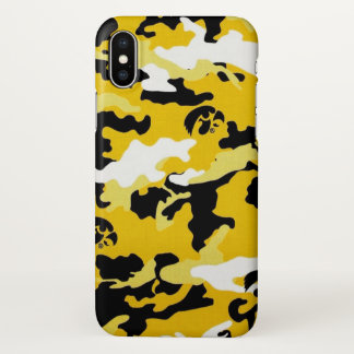 Military camouflage army como print iPhone x case