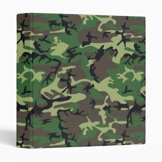 Military Camouflage Vinyl Binders