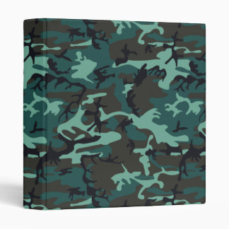Military Camouflage 3 Ring Binder