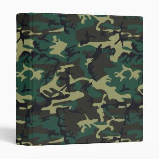 Military Camouflage Binders