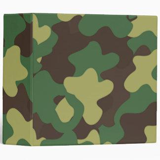 Military Camouflage Binder