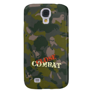 Military camouflage for soldier: close combat war