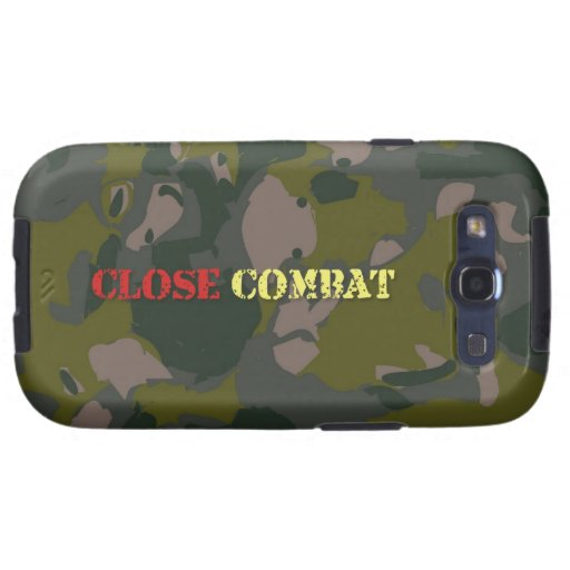 Military camouflage for soldier: close combat war samsung galaxy SIII covers